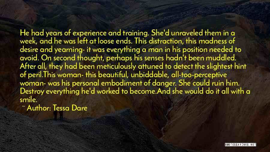 His Beautiful Smile Quotes By Tessa Dare