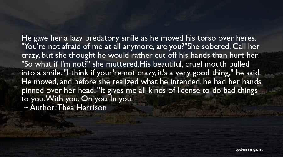 His Beautiful Smile Quotes By Thea Harrison