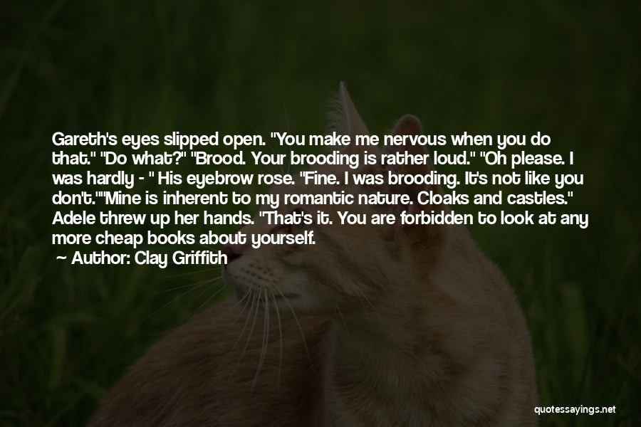 His Eyes Are Like Quotes By Clay Griffith