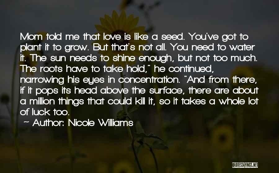 His Eyes Are Like Quotes By Nicole Williams