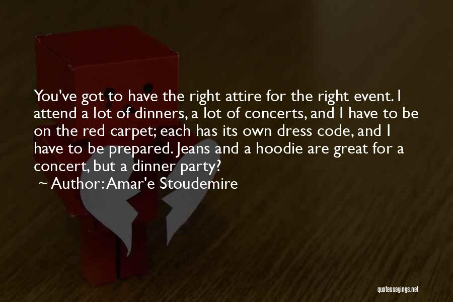 His Hoodie Quotes By Amar'e Stoudemire