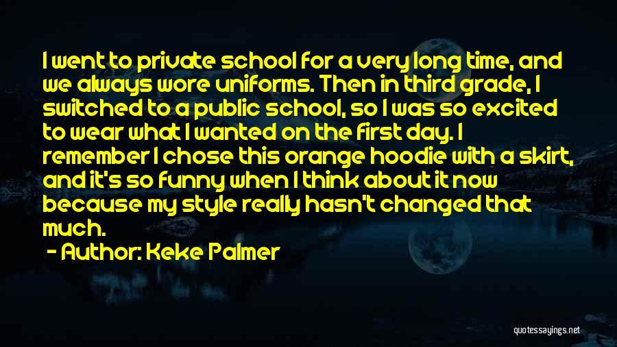 His Hoodie Quotes By Keke Palmer