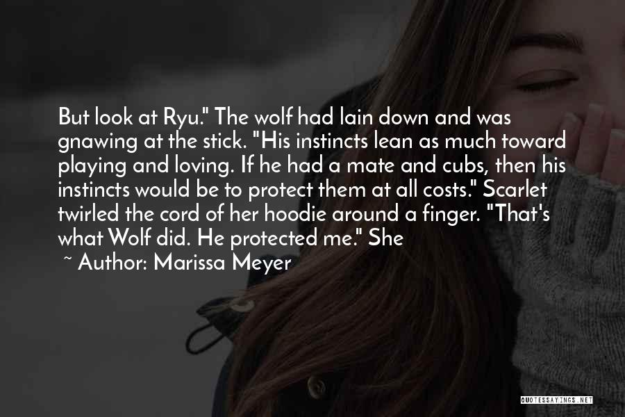 His Hoodie Quotes By Marissa Meyer