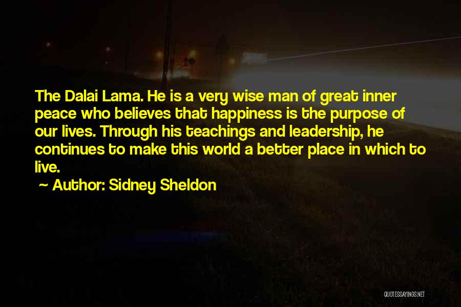 His In A Better Place Quotes By Sidney Sheldon