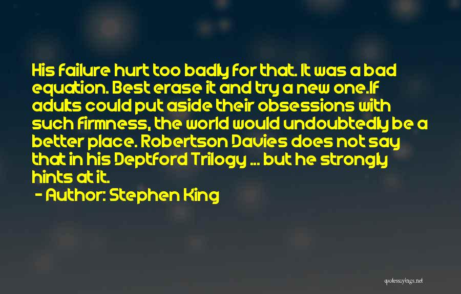 His In A Better Place Quotes By Stephen King
