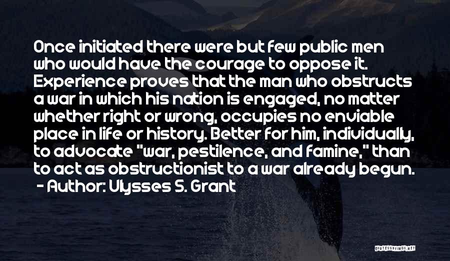 His In A Better Place Quotes By Ulysses S. Grant