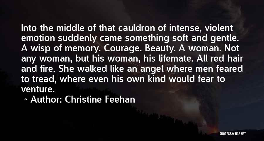 His Kind Of Woman Quotes By Christine Feehan
