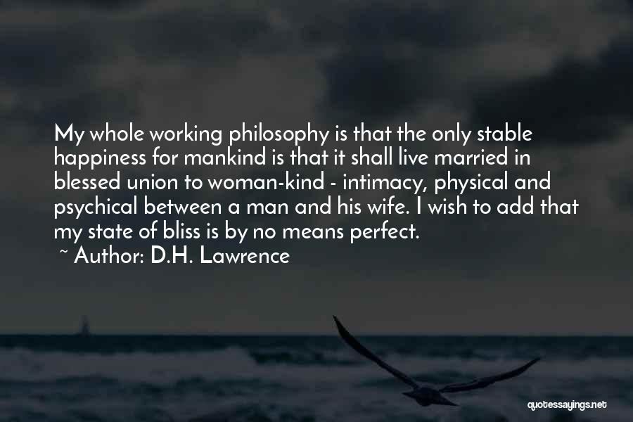 His Kind Of Woman Quotes By D.H. Lawrence