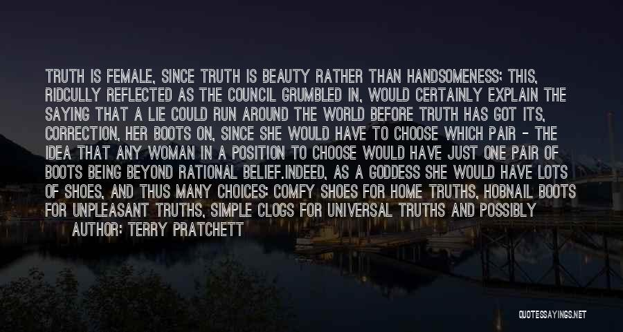 His Kind Of Woman Quotes By Terry Pratchett