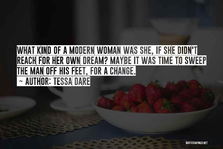 His Kind Of Woman Quotes By Tessa Dare