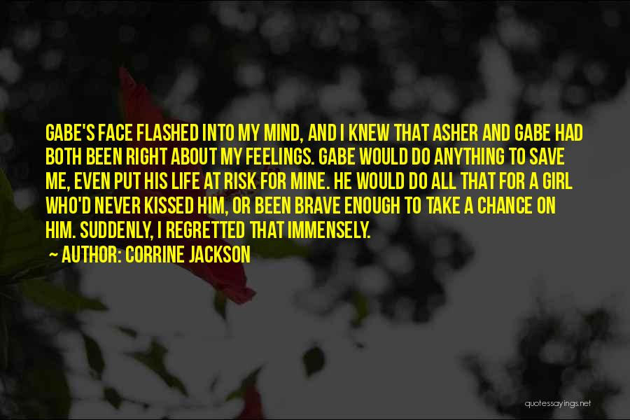 His Risk To Take Quotes By Corrine Jackson
