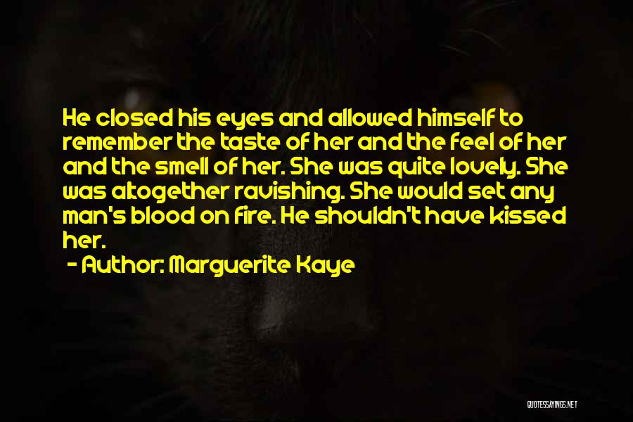 His Smell Quotes By Marguerite Kaye