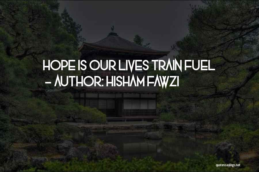 Hisham Fawzi Quotes 1550538