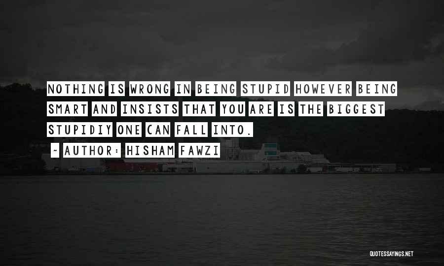 Hisham Fawzi Quotes 306914
