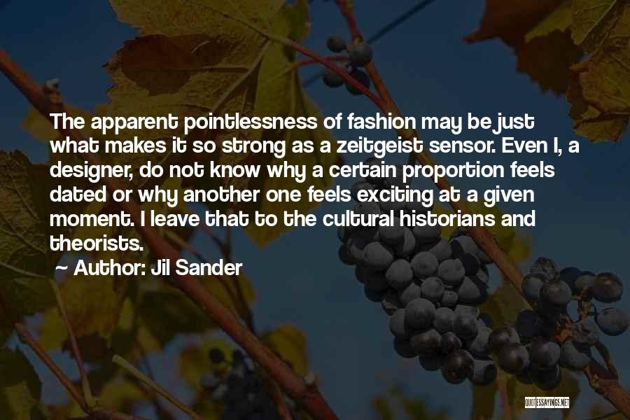 Historians Quotes By Jil Sander