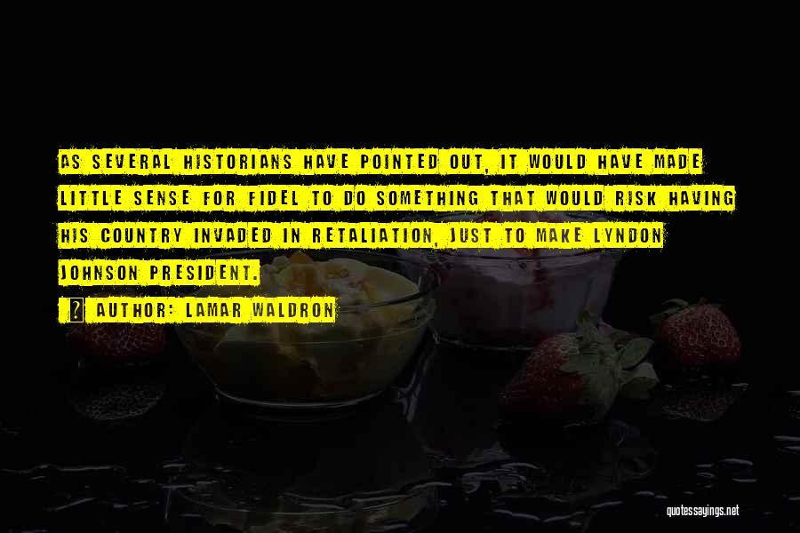 Historians Quotes By Lamar Waldron