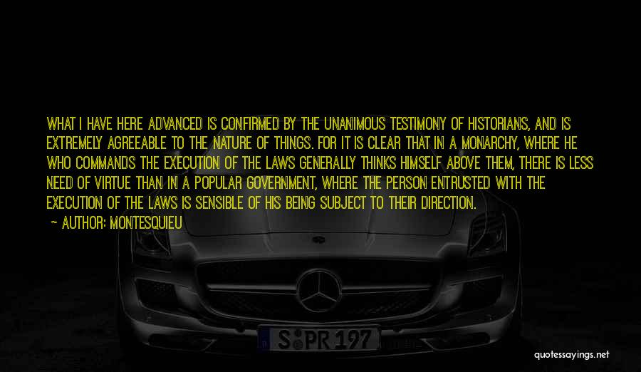Historians Quotes By Montesquieu