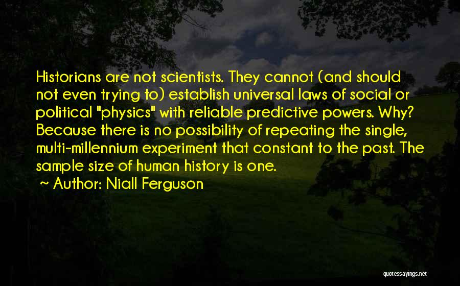 Historians Quotes By Niall Ferguson