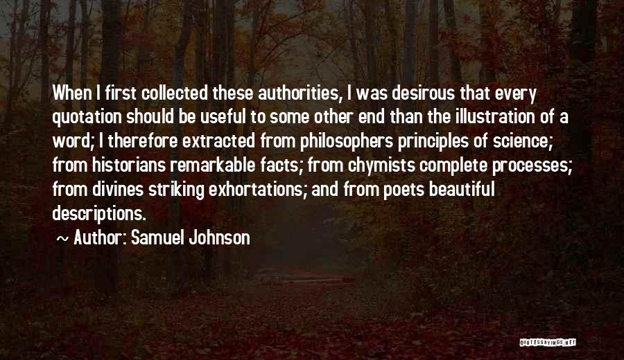 Historians Quotes By Samuel Johnson