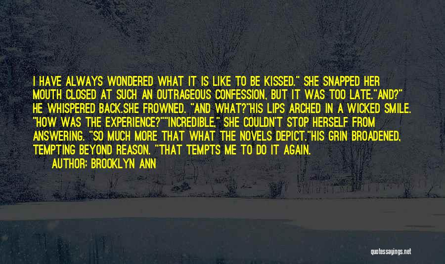 Historical Romance Novels Quotes By Brooklyn Ann
