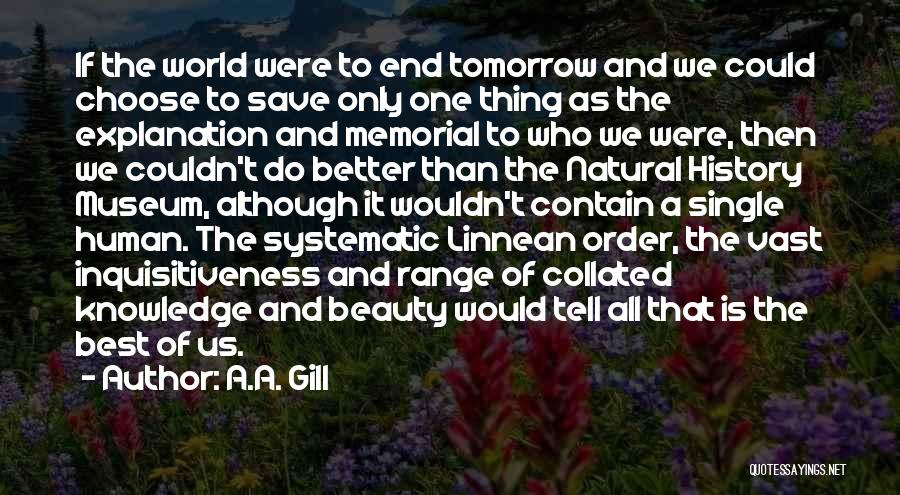 History And Knowledge Quotes By A.A. Gill