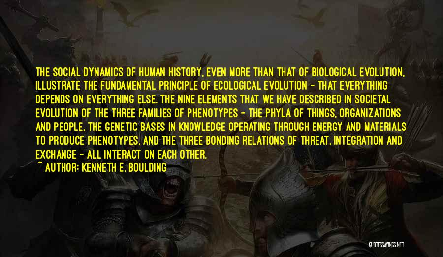 History And Knowledge Quotes By Kenneth E. Boulding