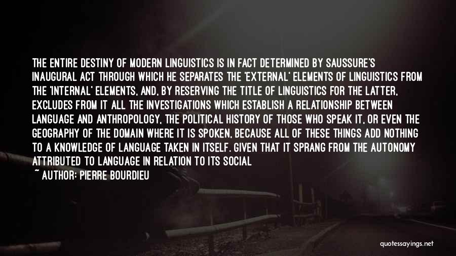 History And Knowledge Quotes By Pierre Bourdieu