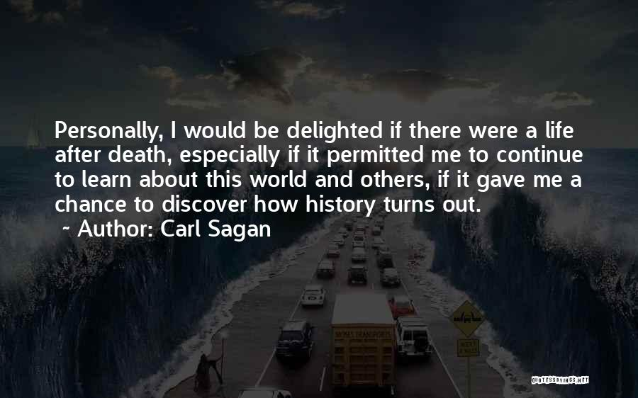 History And Learning Quotes By Carl Sagan
