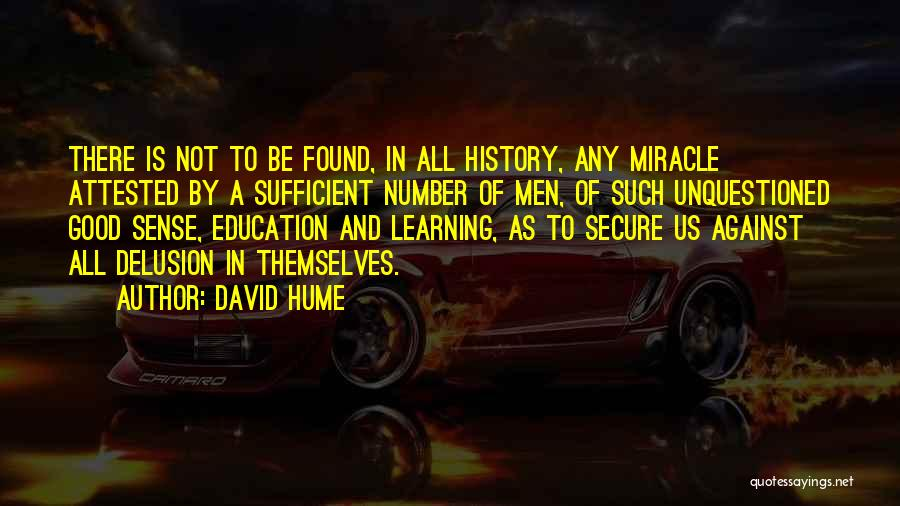History And Learning Quotes By David Hume