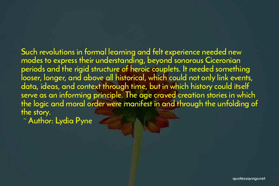 History And Learning Quotes By Lydia Pyne