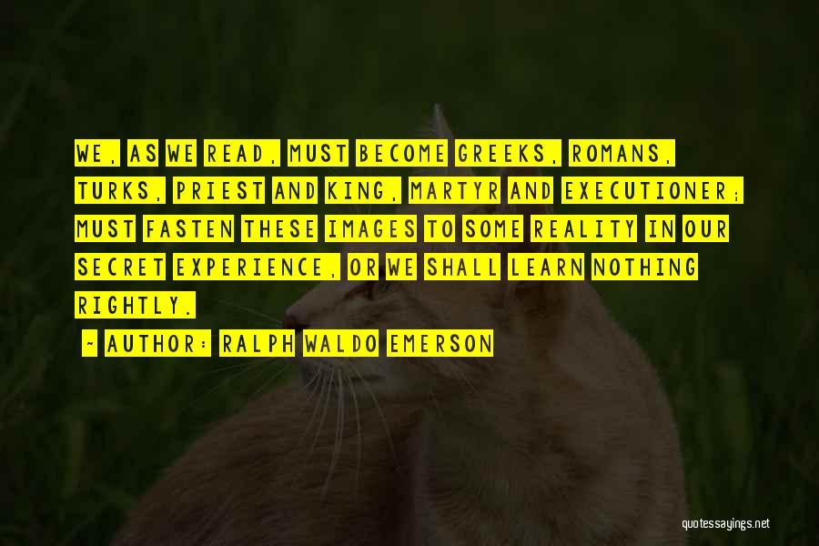 History And Learning Quotes By Ralph Waldo Emerson