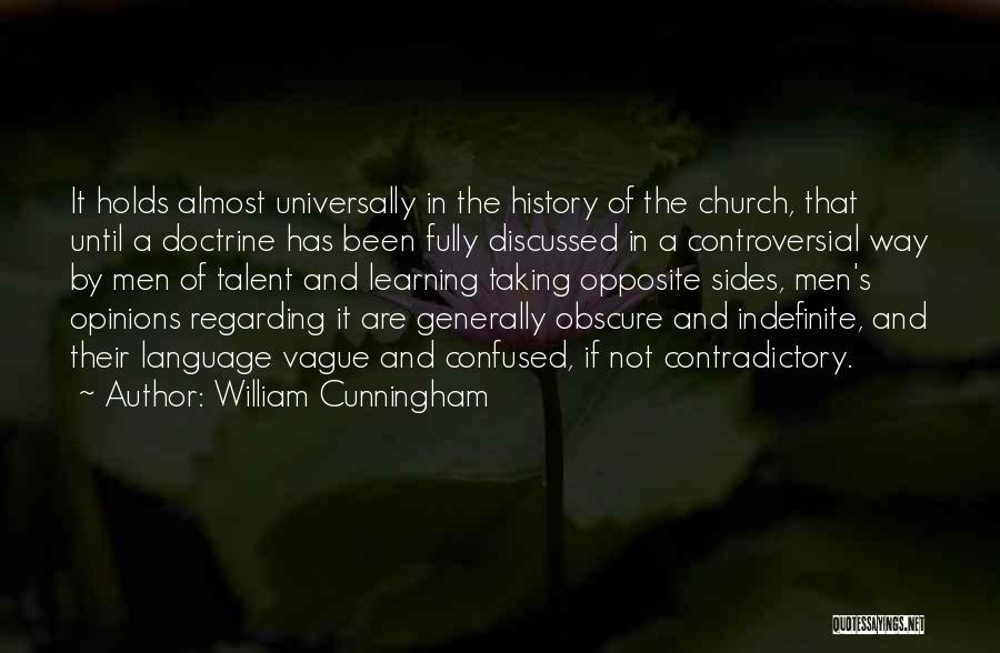 History And Learning Quotes By William Cunningham