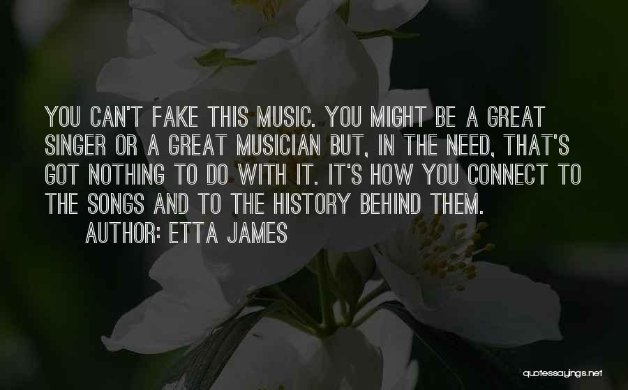 History And Music Quotes By Etta James