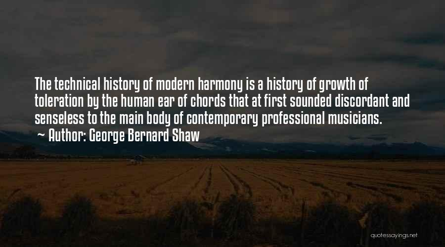 History And Music Quotes By George Bernard Shaw