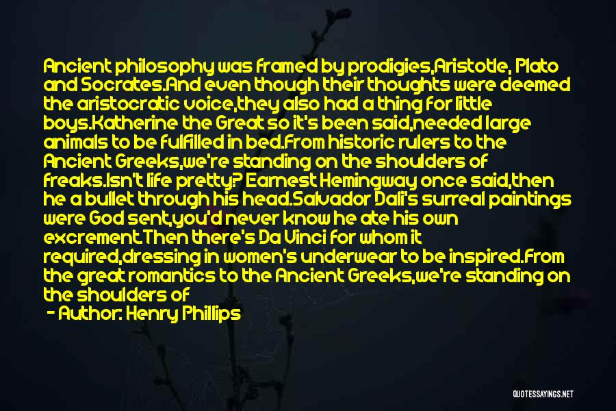 History And Music Quotes By Henry Phillips