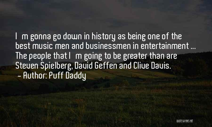 History And Music Quotes By Puff Daddy