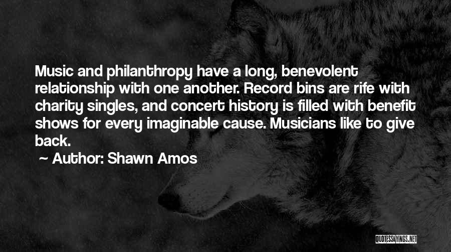 History And Music Quotes By Shawn Amos