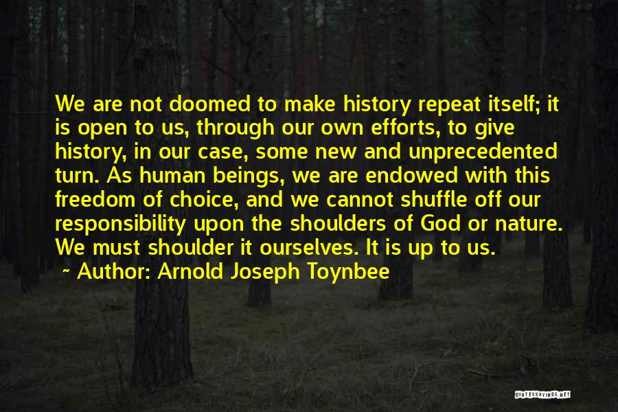 History Repeat Itself Quotes By Arnold Joseph Toynbee