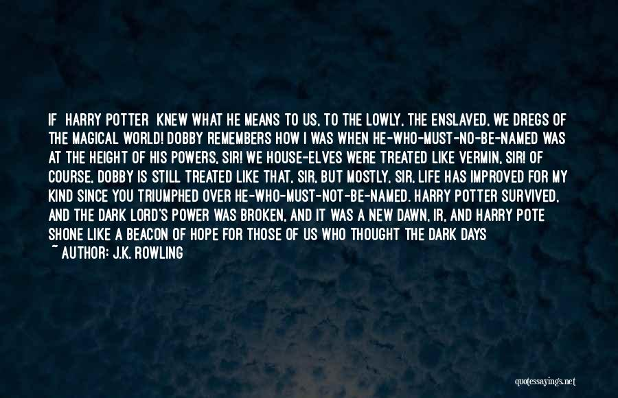 History Repeat Itself Quotes By J.K. Rowling