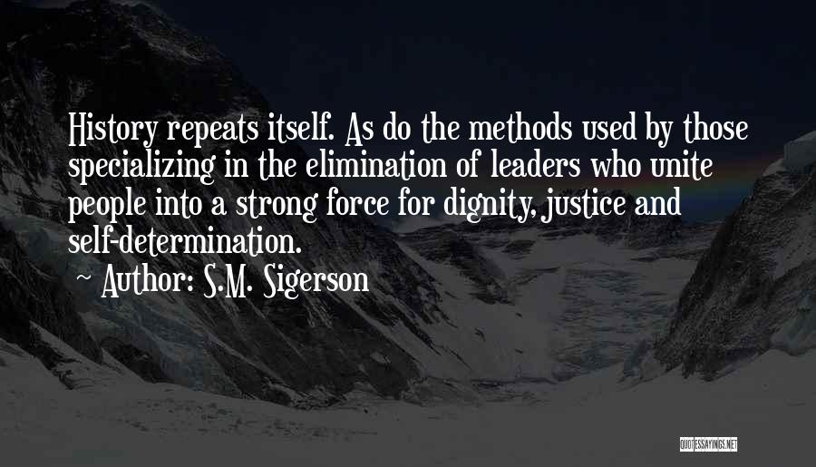 History Repeats Quotes By S.M. Sigerson