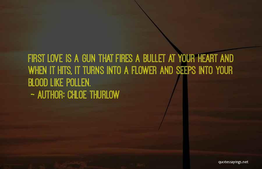 Hits The Heart Quotes By Chloe Thurlow
