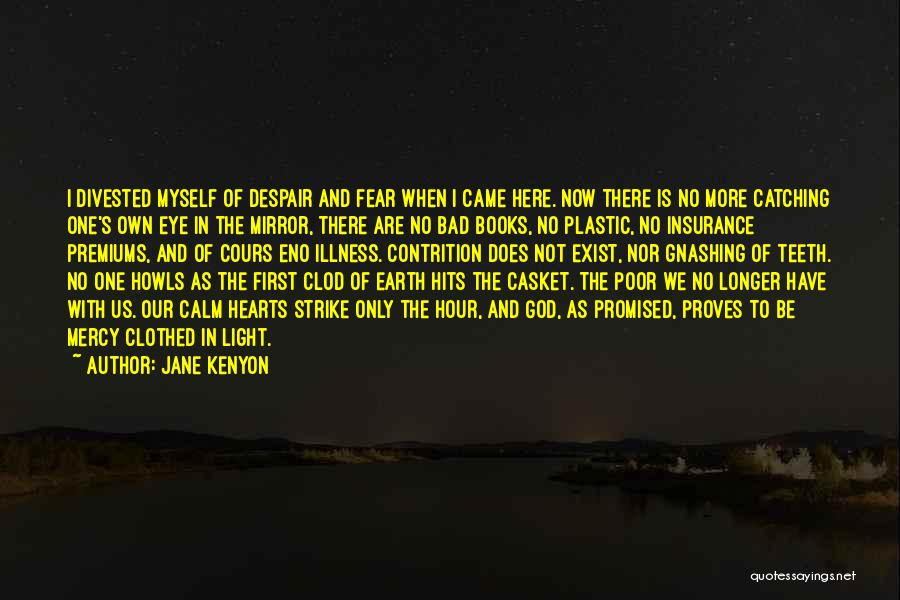 Hits The Heart Quotes By Jane Kenyon