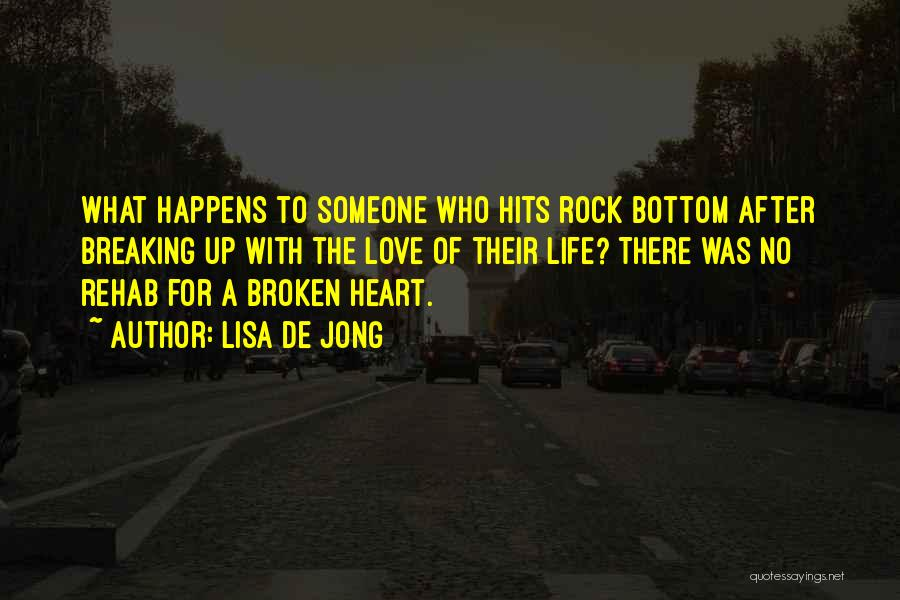 Hits The Heart Quotes By Lisa De Jong