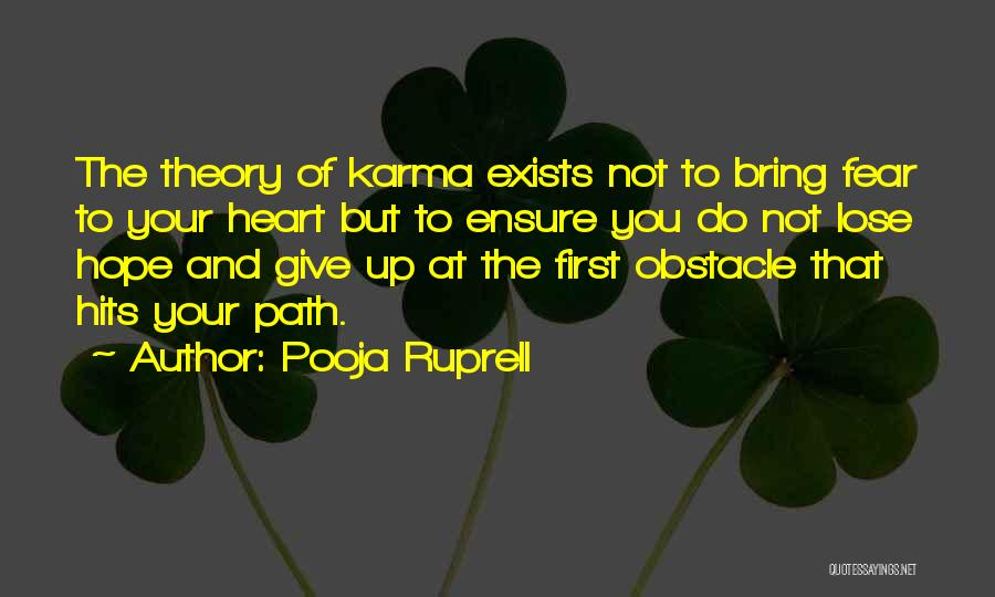 Hits The Heart Quotes By Pooja Ruprell