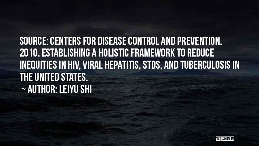 Hiv Prevention Quotes By Leiyu Shi