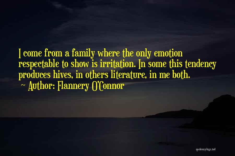 Hives Quotes By Flannery O'Connor