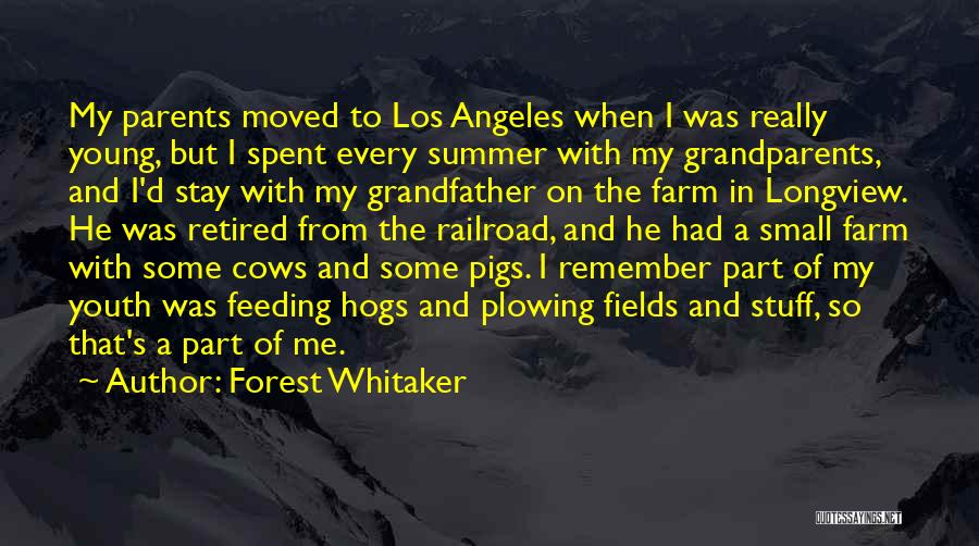 Hogs Quotes By Forest Whitaker