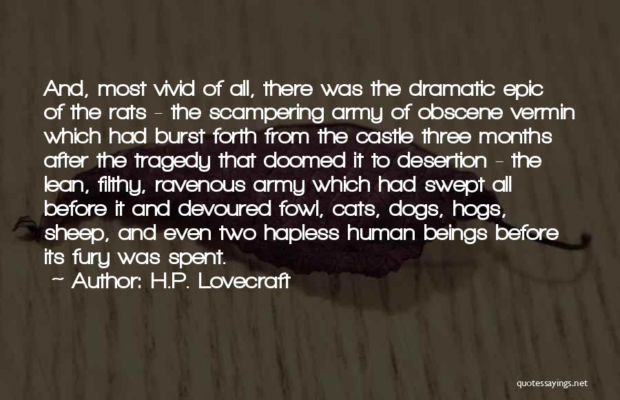 Hogs Quotes By H.P. Lovecraft