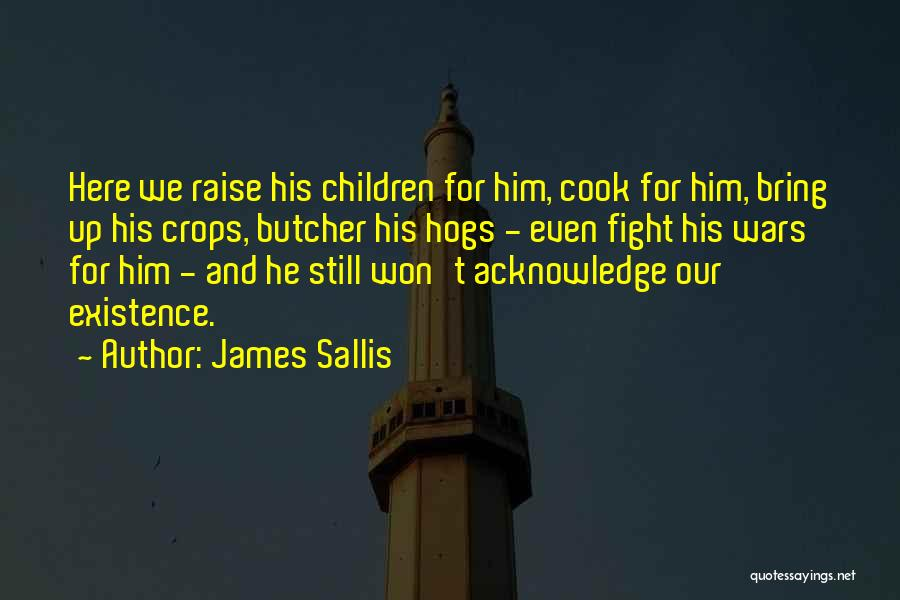 Hogs Quotes By James Sallis