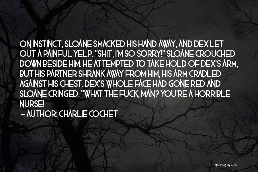 Hold It Down For My Man Quotes By Charlie Cochet